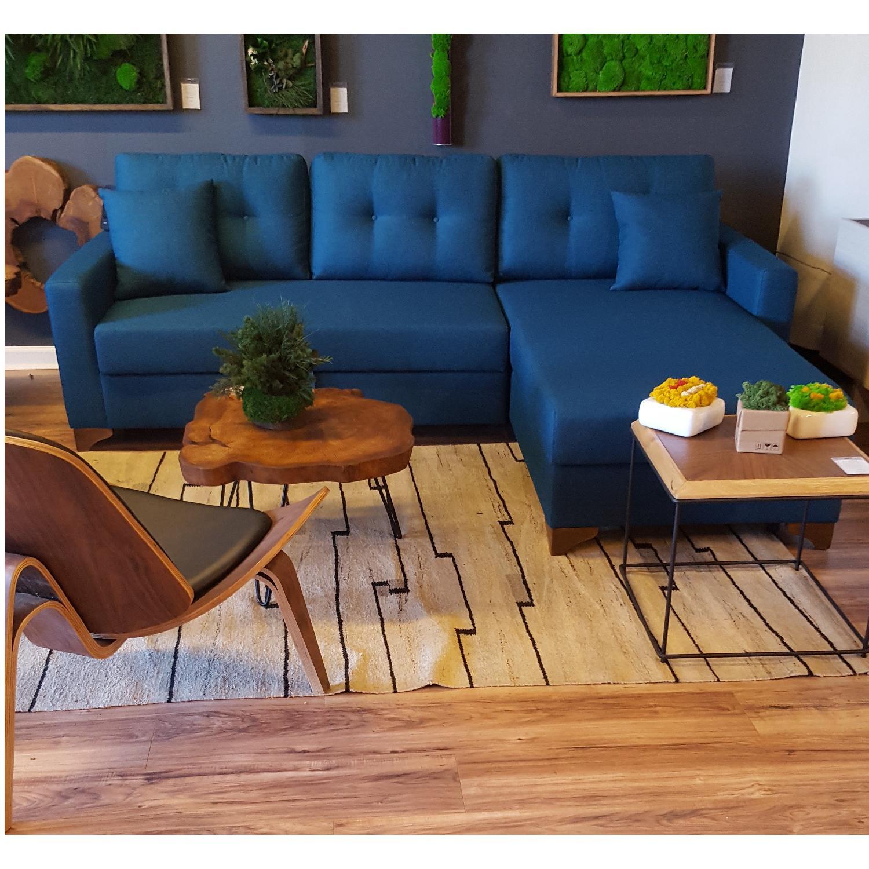 Sleeper Sectional Sofa w Storage AptDeco