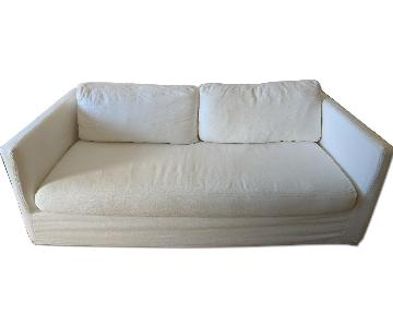 Homenature Montauk White Sofa