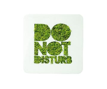 Flowerbox Wall Gardens Do Not Disturb Moss Wall Art