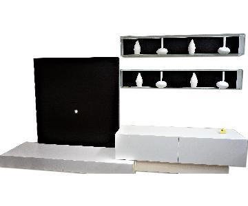 Presotto Italia TV/Bookshelf & Storage Wall Unit