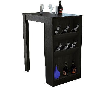 RTA Design Syrah Collection Wine Storage Table w/ Bar Cabine