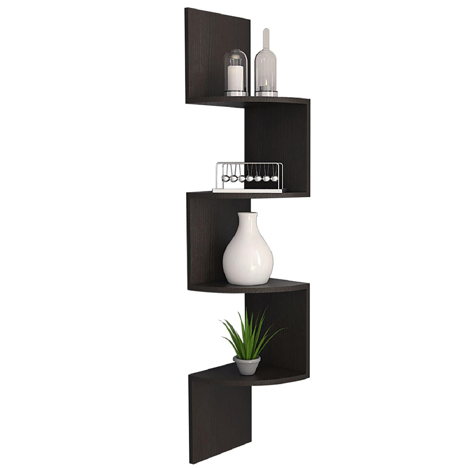 RTA Design Rosset Collection Shelf in Black Espresso