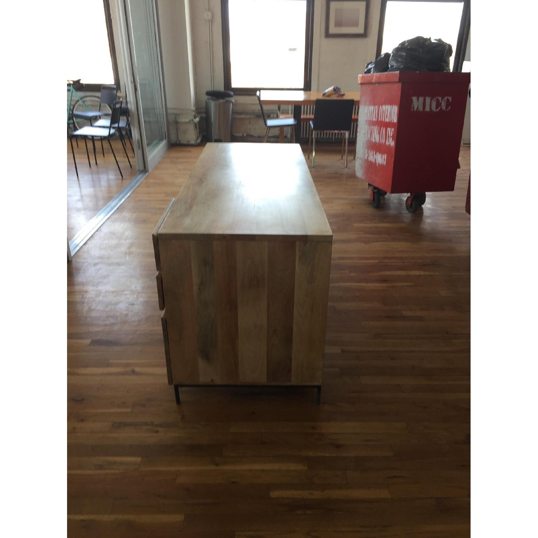 Reclaimed Mango Wood Desk-1