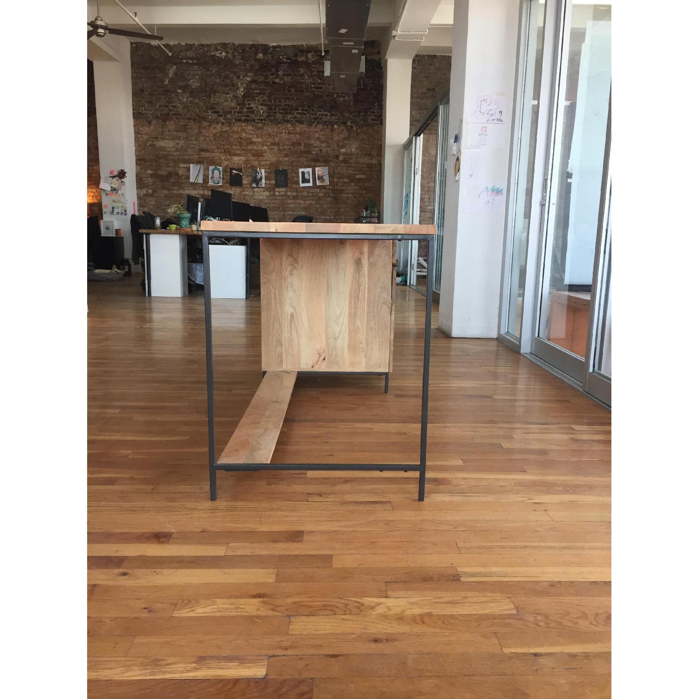 Reclaimed Mango Wood Desk-2