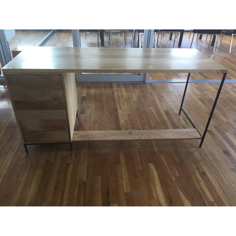 Reclaimed Mango Wood Desk-3