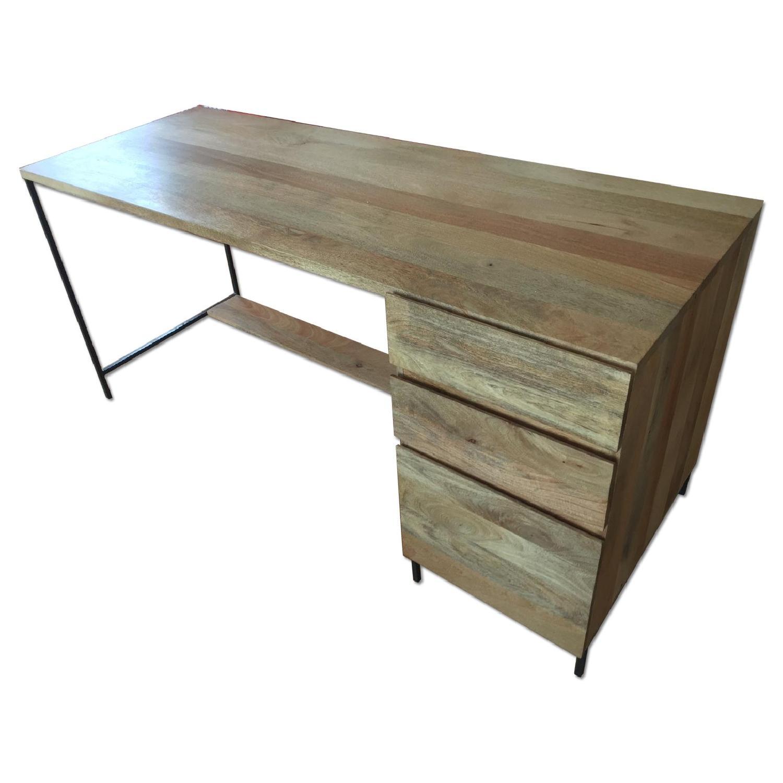 Reclaimed Mango Wood Desk