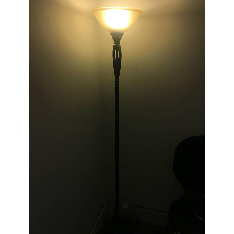 Bed Bath & Beyond Floor Lamp + Desk Lamp-1