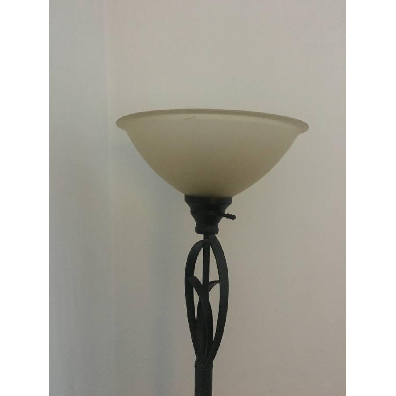 Bed Bath & Beyond Floor Lamp + Desk Lamp-2