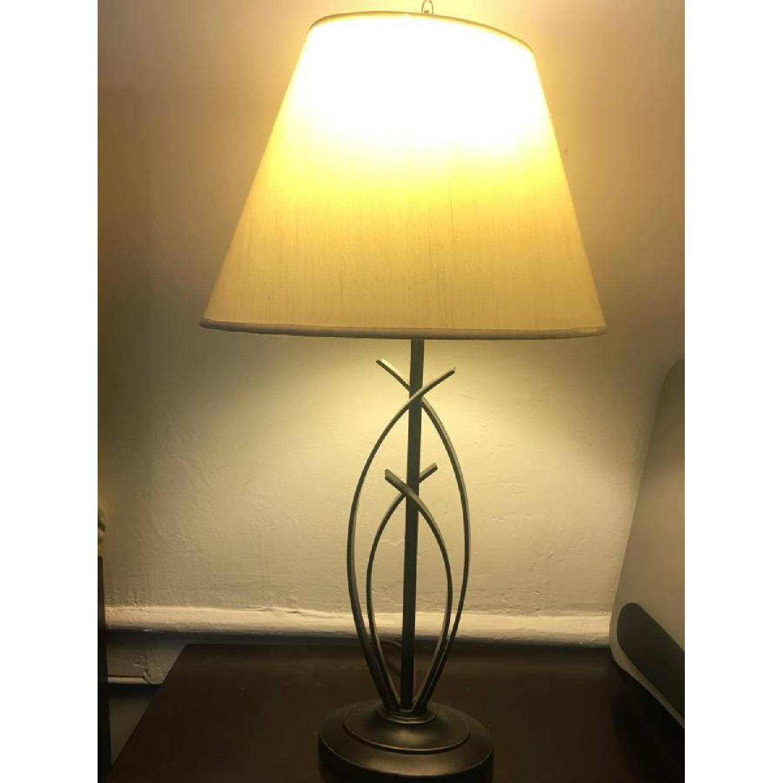 Bed Bath & Beyond Floor Lamp + Desk Lamp-3