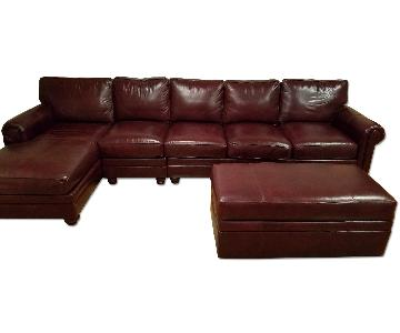 Hooker Braddington Young Daire Sectional Couch