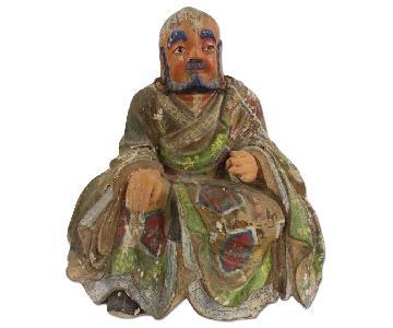 Vintage Bodhidruma Buddha Stature