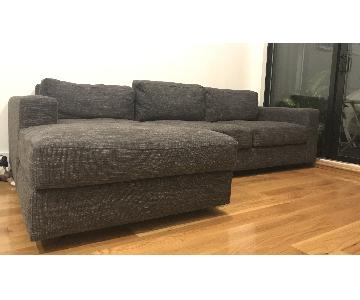 West Elm Urban 2-Piece Chaise Sectional