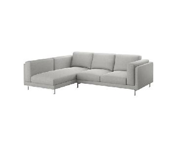 Ikea Nockeby 3 Seat Sectional Sofa