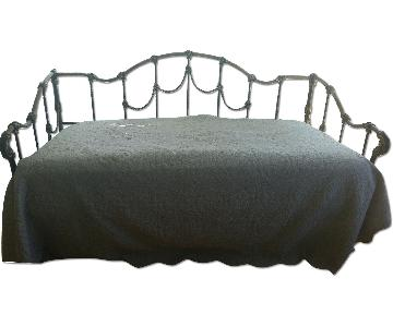 Solid Wrought Iron Daybed
