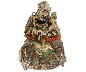 Vintage Vajraputra Buddha Statue