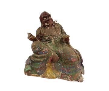 Vintage Kanaka the Bharadvaja Buddha Statue