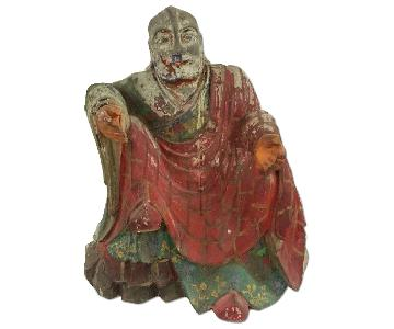 Vintage Rahula Buddha Statue