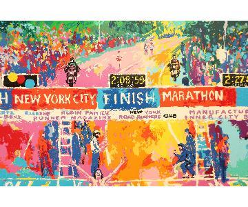 Leroy Neiman Classic Marathon Finish Serigraph