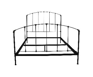 Charles P. Rogers Rutherford Queen Size Iron Bed Frame