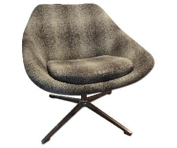 Allermuir Open Swivel Chair