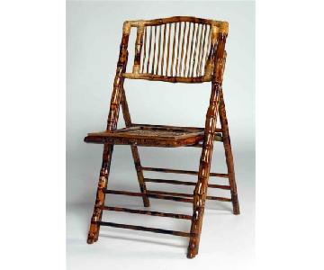 Empire Furniture USA Bamboo Folding Chairs