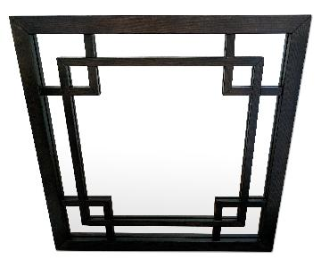 West Elm Square Wood Mirror