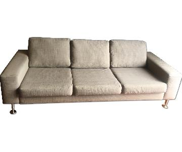 BoConcept Modern 3 Seater Fabric Sofa