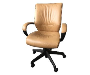 Keilhauer Leather Desk Chair