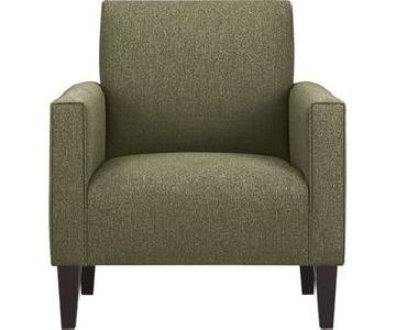 Crate & Barrel Camden Chair in Olive