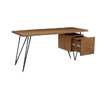 Moe's Nailed Wooden Desk