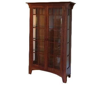Ethan Allen American Impressions Curio/China Cabinet