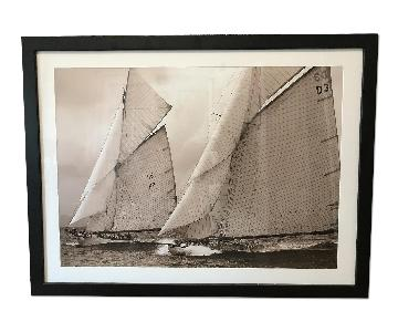 Sail Boat Picture Frame