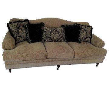 Peter Andrews Camelback 3 Seater Sofa
