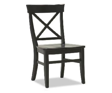 Pottery Barn Aaron Wood Seat Chairs