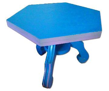 Vintage Royal Blue Side Table