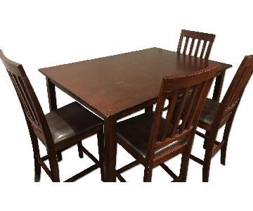 5 Piece Wood Dining Set