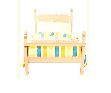 Maine Cottage Wooden Yellow Twin Bed
