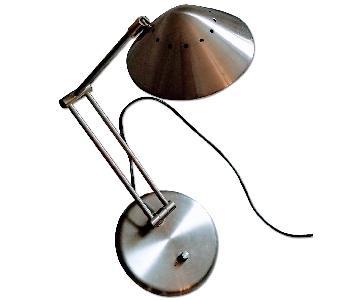 Silver Adjustable Desk Lamp