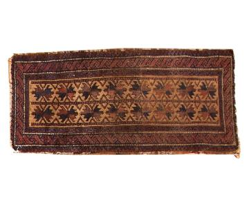 Antique Belouch Runner Rug