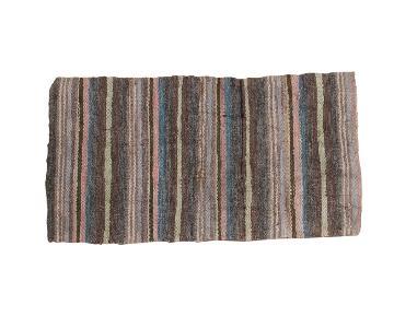 Vintage Scandinavian Rag Rug