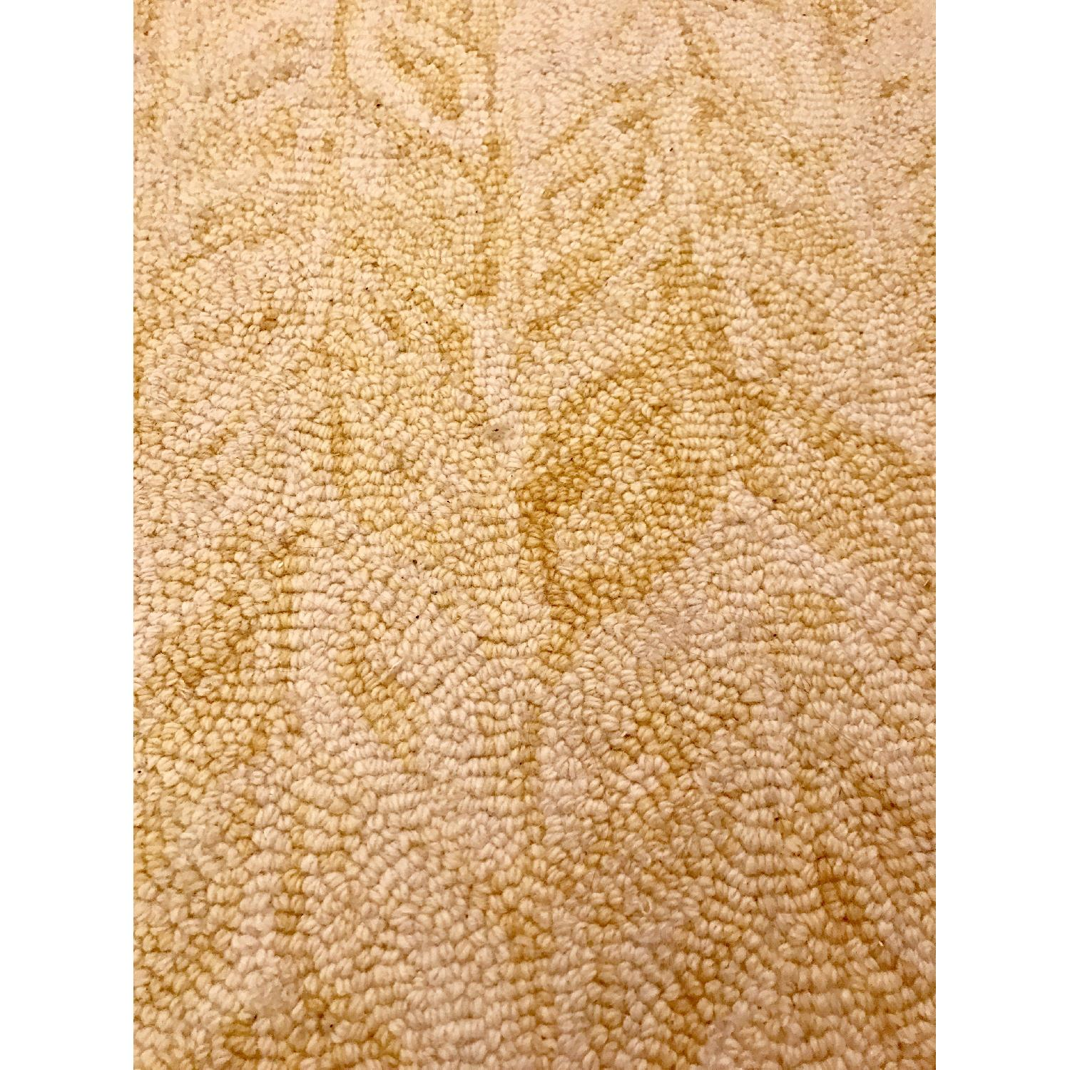 West Elm Vines Horseradish Wool Rug Aptdeco