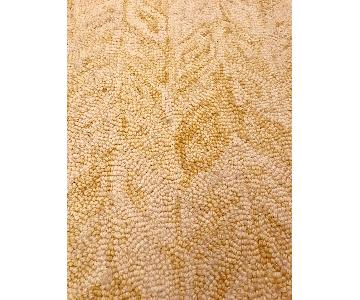 West Elm Vines Horseradish Wool Rug