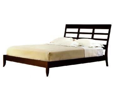 Dakota Jackson Ceylon Solid Cherry King Size Bed