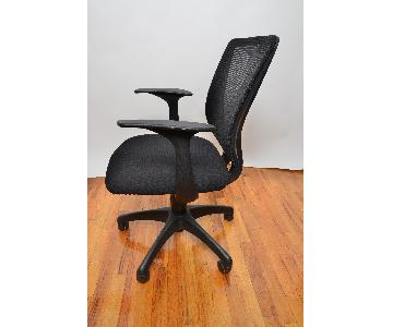 Staples Black Rolling Office Chair