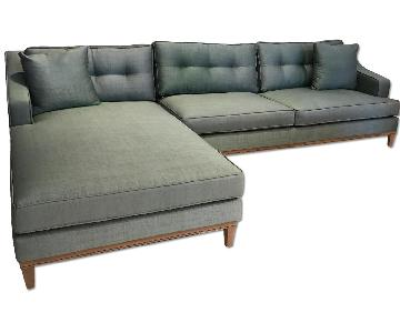 Lazzoni Otto Chaise Sectional Sofa