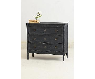 Anthropologie Washed Wood Three-Drawer Dresser