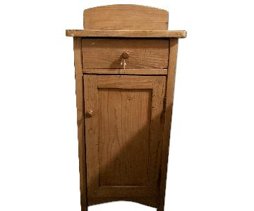 Antique Pine Nightstand