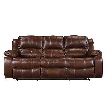 Raymour & Flanigan Dual Power Reclining Sofa