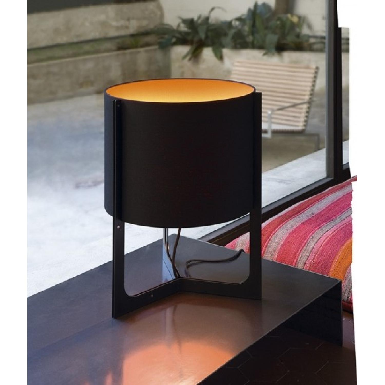 Carpyen Nirvana Black & Orange Table Lamps  - Pair - image-1