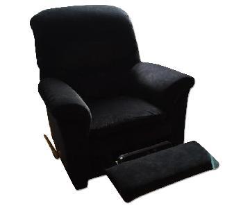 La-Z-Boy Black Reclining/Rocker Chair